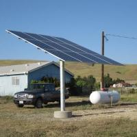 Solar Post Top