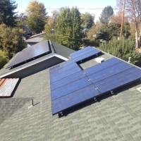 Solar Roof Comp Shingle