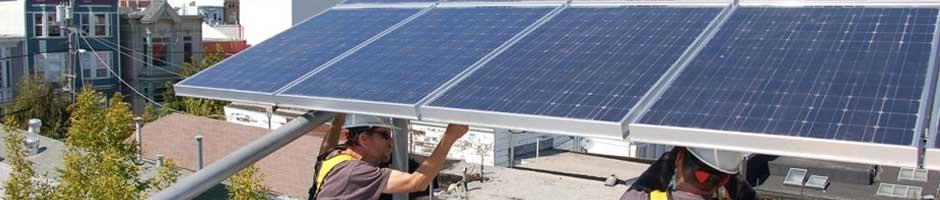 solar panel installation for energy effeciency