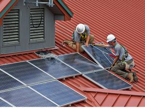 San Luis Obispo solar installation